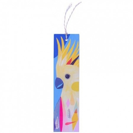 Earth Greetings Inaluxe Bookmark - Sulfur Crested