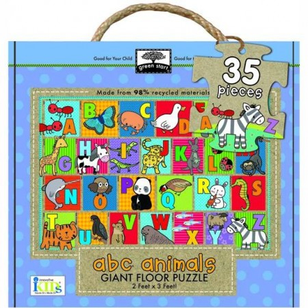 Green Start Giant Floor Puzzle - ABC Animals