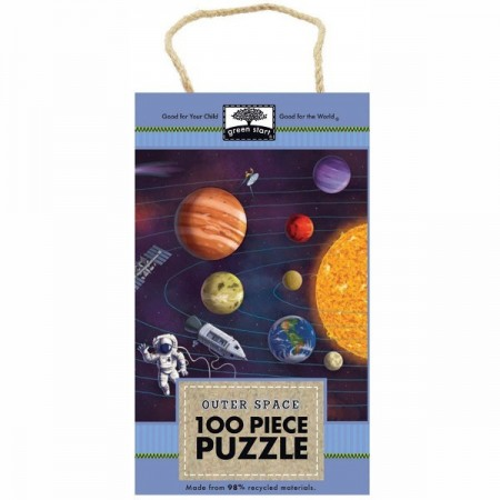 Green Start 100 Piece Puzzle - Outer Space
