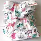 Bambooty Nappy Easy One-Size - Meow