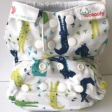 Bambooty Nappy Easy One-Size - Cranky Crocs