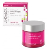 Andalou Naturals 1000 Roses Rosewater Mask for Sensitive Skin)