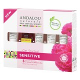 Andalou Naturals 1000 Roses Sensitive Skin Trial & Travel Pack