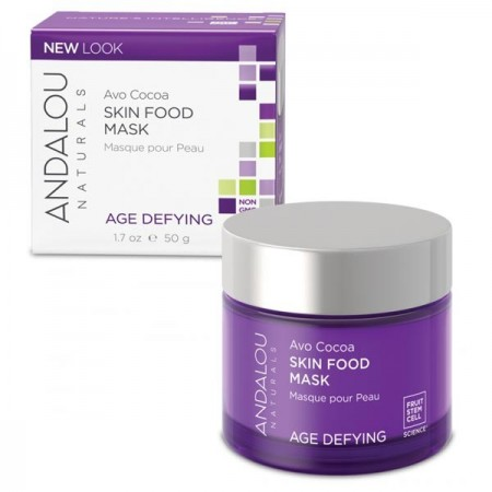 Andalou Naturals Age Defying Avo Cocoa Skin Food Mask for Dry Skin