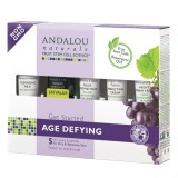 Andalou Naturals Age Defying Dry Skin Trial & Travel Pack