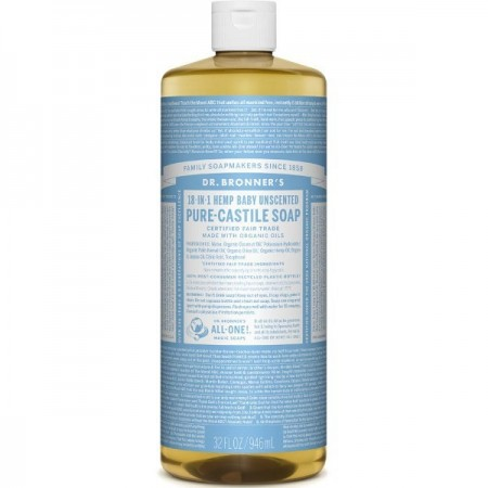 Dr. Bronner's Pure-Castile Liquid Soap 946ml - Baby Unscented