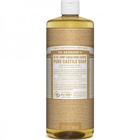 Dr. Bronner's Pure-Castile Liquid Soap 946ml - Sandalwood Jasmine
