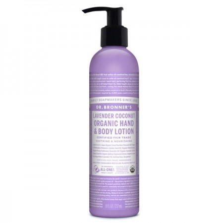 Dr. Bronner's Organic Lotion 237ml - Lavender Coconut