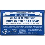 Dr. Bronner's Pure-Castile Bar Soap 140g - Peppermint