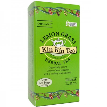 Kin Kin Organic Herbal Tea Bags - Lemongrass