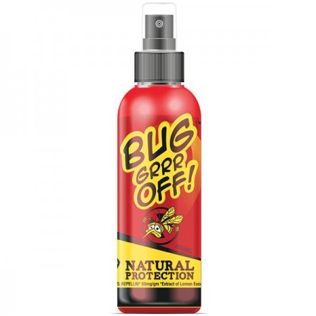 Bug-grrr Off Natural Insect Repellent - Regular Strength Spray