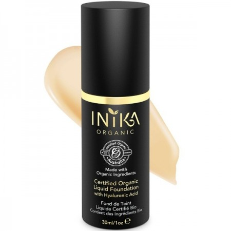 Inika Liquid Mineral Foundation Certified Organic - Cream