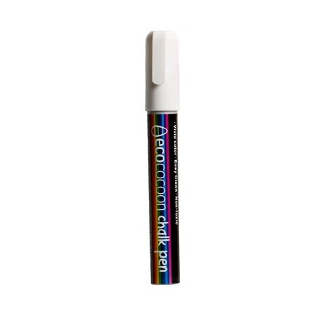 EcoCocoon Chalk Pen - White