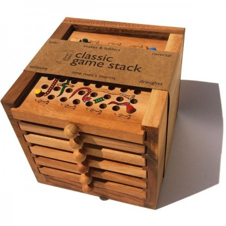 Planet Finska Classic Game Stack - 6 Drawer