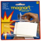 Magnart removable adhesive tabs
