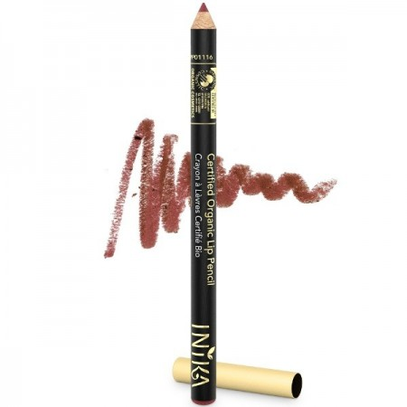 Inika Lip Pencil Certified Organic - Moroccan Rose