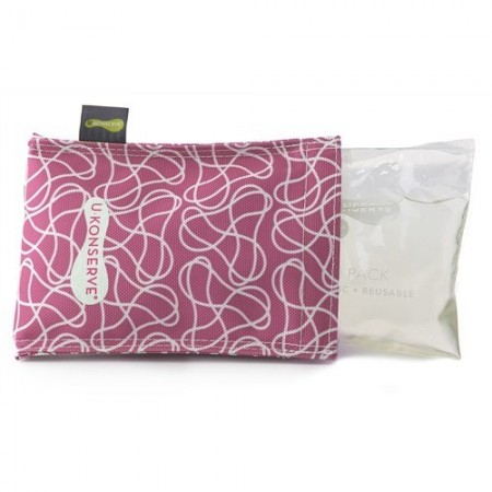 Kids Konserve ice pack & cover - magenta