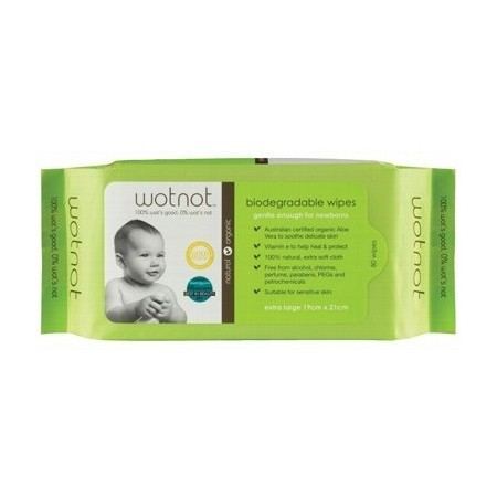 WOTNOT baby wipes (80pk)