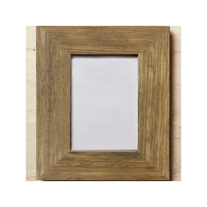 recycled wood frame oiled 6 x 4 biome - Wooden Picture Frames