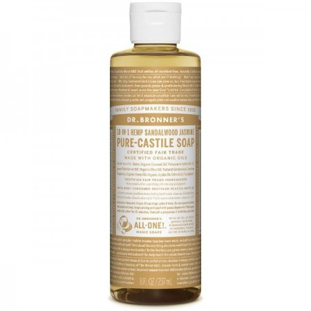 Dr.Bronner's Pure-Castile Liquid Soap 237ml - Sandalwood Jasmine
