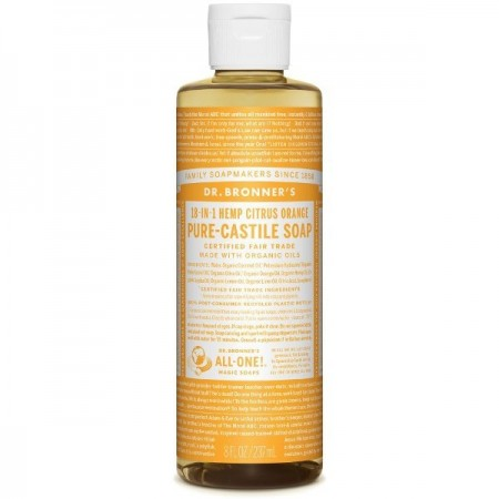 Dr. Bronner's Pure-Castile Liquid Soap 237ml - Citrus