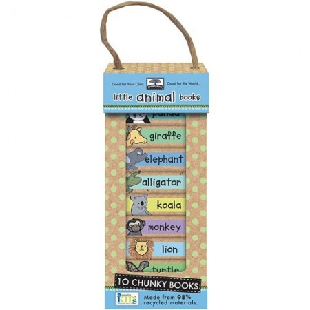 Green Start book tower - little animal (10)