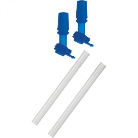 Camelbak spare parts - kids 2 straws 2 bite valves set blue