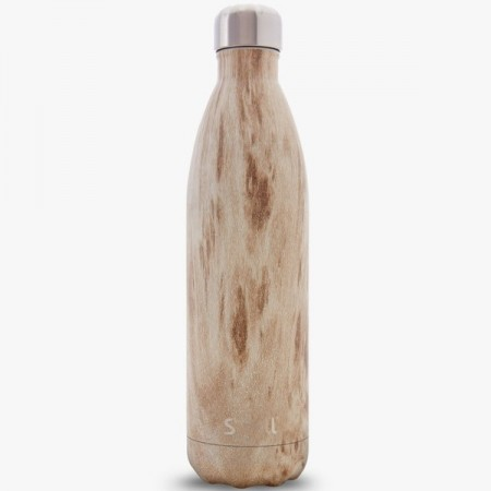 S'Well Insulated Stainless Steel Bottle 750ml Blonde Wood