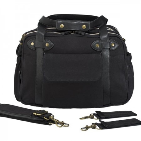 SoYoung Charlie nappy bag or lifestyle bag - Black
