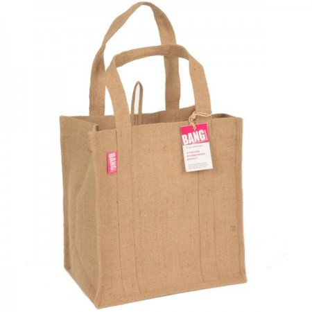 Real Green bag made from jute
