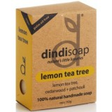 Dindi lemon Tea Tree palm oil free natural soap 110g