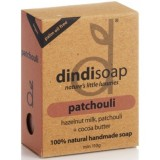 Patchouli palm oil free natural soap 110g