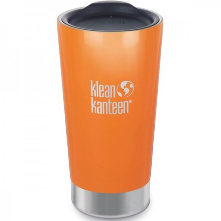 Klean Kanteen 16oz 470ml Insulated Tumbler - Canyon Orange