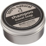 Dindi natural travel shampoo soap in a tin - rosemary + mint