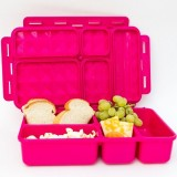 Go Green Lunch Box - Sea Horses Pink Box
