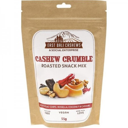 East Bali Cashews -  Roasted Snack Mix 55g