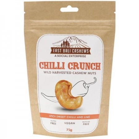 East Bali Cashews - Chilli Crunch 75g
