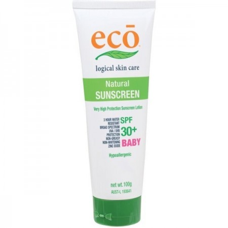 Eco Baby SPF 30+ natural sunscreen (100g)