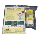 Green living yoghurt culture + 2 jars - mild dairy