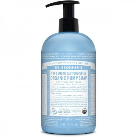 Dr. Bronner's Pump Soap Baby 710ml