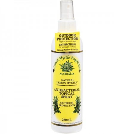 Lemon Myrtle Natural Antiseptic Topical Spray 250ml