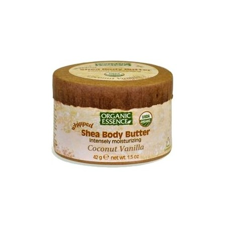 Organic Essence Whipped Shea Body Butter - Coconut Vanilla