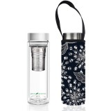BBBYO Glass Tea Flask with Cover 500ml -Torque