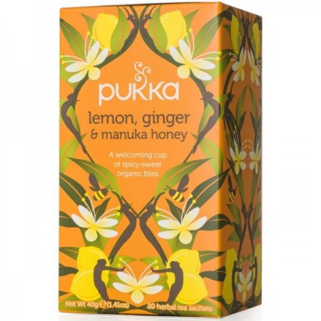 Pukka Organic Tea - Lemon, Ginger & Manuka Honey