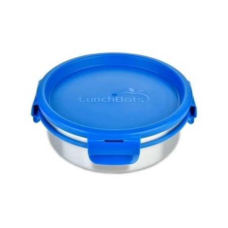 LunchBots Clicks Stainless Steel Container 750ml - Royal Blue