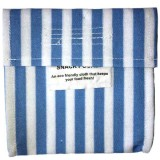 4MyEarth Snack Pocket single (1) - Denim Stripe
