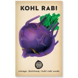 Heirloom Seeds - Purple Kohl Rabi