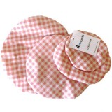 4MyEarth Food Cover Set - Red Gingham