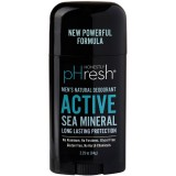 Honestly pHresh Men's Natural Deodorant Stick - Active Sea Mineral