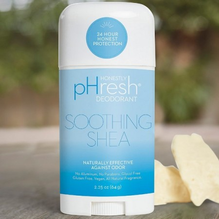 Honestly pHresh Natural Deodorant Stick - Soothing Shea